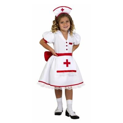 César Déguisement infirmière : 5/7 ans