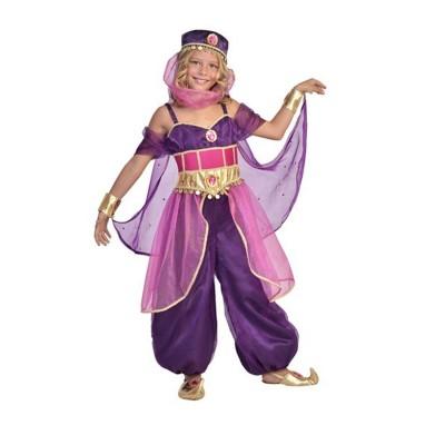 César Déguisement Princesse Jasmine 5/7 ans