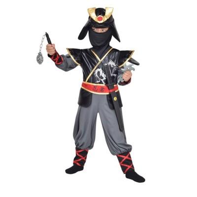 César Déguisement ninja 5/7 ans