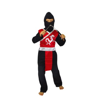 César Déguisement ninja : 8/10 ans