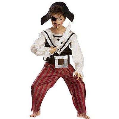 César Déguisement Pirate (avec accessoires) : 5/7 ans