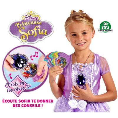 Giochi Preziosi accessoires princesses sofia : amulette magique + 1 couronne