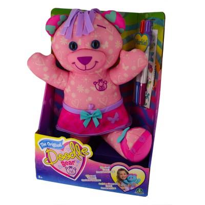 Giochi Preziosi Peluche Doodle Bear 40 cm à colorier : Rose