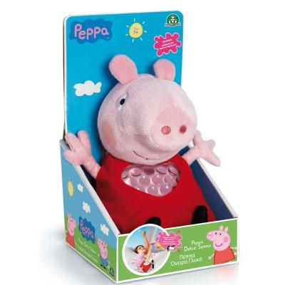 Giochi Preziosi Peluche musicale Peppa Pig : Peluche berceuse et lumineuse
