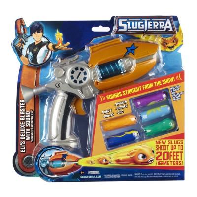 Giochi Preziosi Pistolet Slugterra : Blaster avec sons et 5 slugs