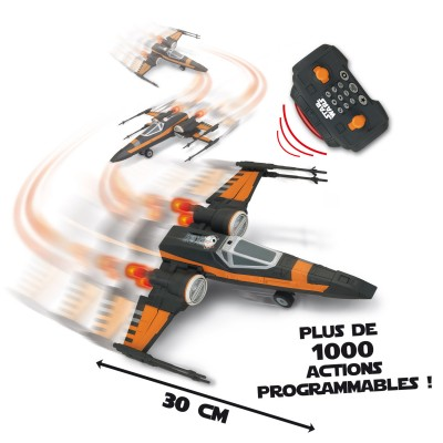 Giochi Preziosi Vaisseau radiocommandé Star Wars : Poe's X-Wing Fighter (30 cm)