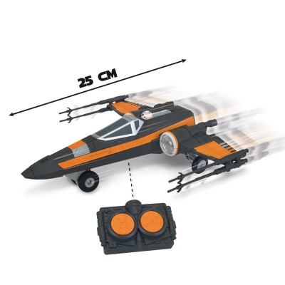 Giochi Preziosi Vaisseau radiocommandé Star Wars : Poe's X-Wing Fighter