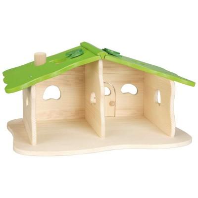 Goki Maison de poupées : maison forestière