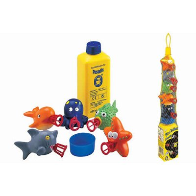 Pustefix Bulles de savon Pustefix Mini Bubbelix : Animaux de la mer