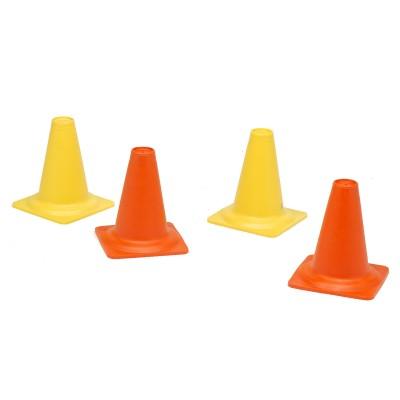 Falk / falquet ensemble 4 cônes de chantier