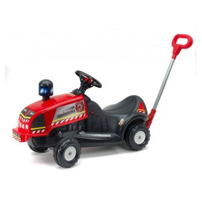 Falk / Falquet Porteur Camion de pompier avec canne