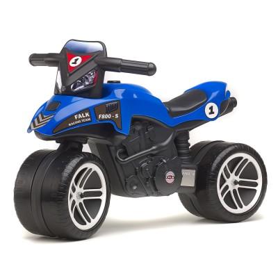 Falk / falquet porteur moto racing team bleue