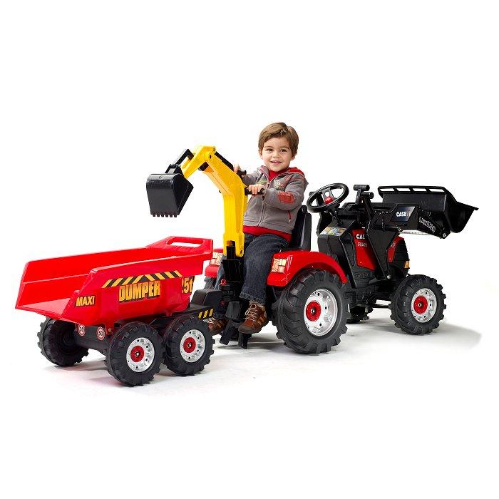 Remorque tracteur pedale promotion 123 remorque - Remorque tracteur enfant ...
