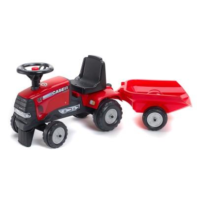 Falk / Falquet Tracteur Case IH CVX 120 + Remorque (sans pédales)