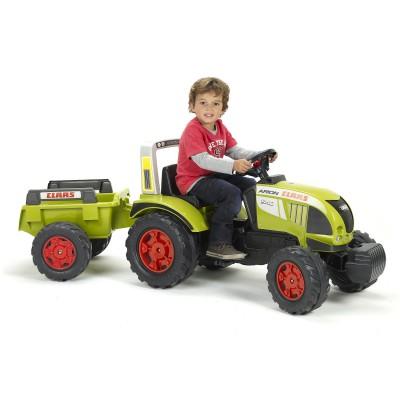 Tracteur p dales avec remorque claas arion 540 falk falquet magasin de jouets pour enfants - Tracteur remorque enfant ...