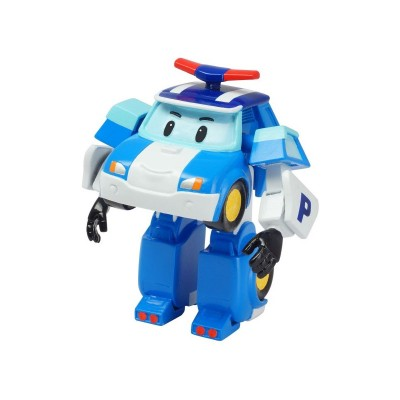 Ouaps Figurine robocar poli 8cm : poli