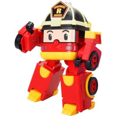 Ouaps Véhicule transformable Robocar Poli : Roy le pompier
