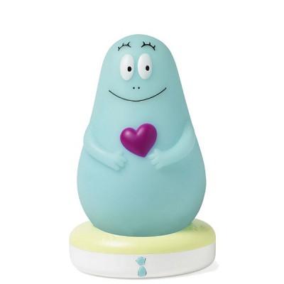 Pabobo Veilleuse lumilove barbapapa : bleu