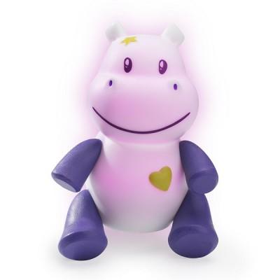 Pabobo Veilleuse lumilove savanoo : hippopotame