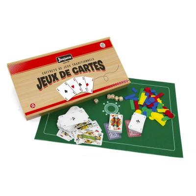 JeuJura Coffret de jeux de cartes. Coffret de jeux de cartes