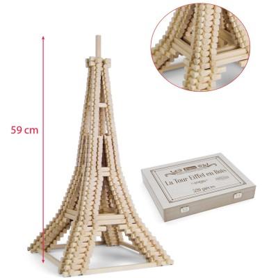 JeuJura Blocs de construction : Tour Eiffel 520 pièces