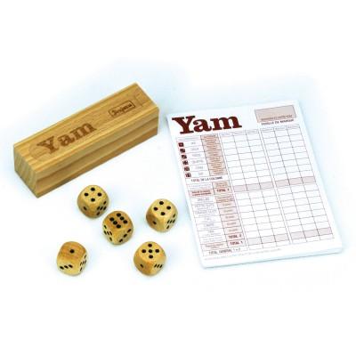JeuJura Jeu de Yam : Coffret complet en bois
