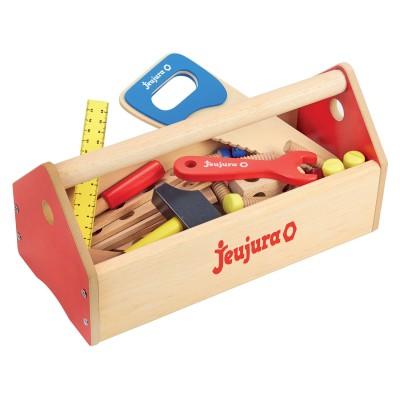 Jeujura Boite à outils en bois