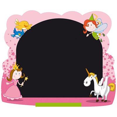 tableau mural face craie encadrement f es jeujura magasin de jouets pour enfants. Black Bedroom Furniture Sets. Home Design Ideas