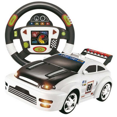 voiture radiocommand e avec volant mt cr ations magasin de jouets pour enfants. Black Bedroom Furniture Sets. Home Design Ideas