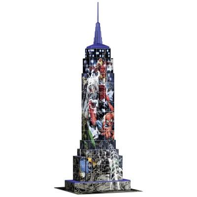 Marvel Puzzle 3d 216 pièces : empire state building marvel