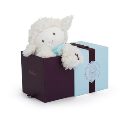 Kaloo Kaloo les amis : peluche 25 cm agneau vanille