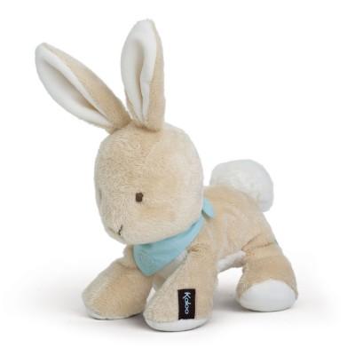 Kaloo Kaloo les amis : peluche 19 cm lapinou praliné
