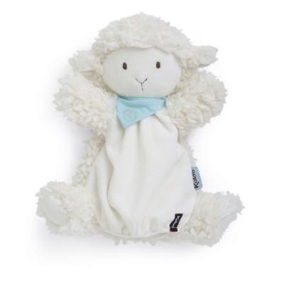 Kaloo Kaloo les amis : doudou marionnette agneau vanille