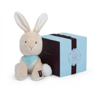 Kaloo Kaloo les amis : peluche 25 cm lapinou praline
