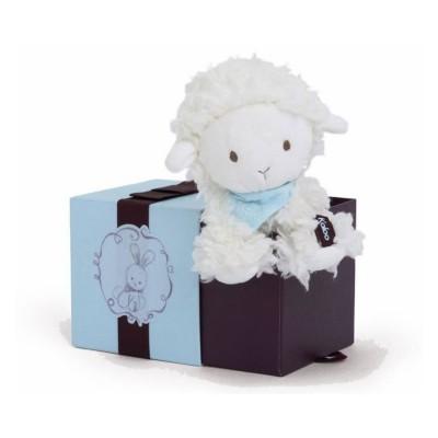 Kaloo Kaloo les amis : peluche 19 cm agneau vanille