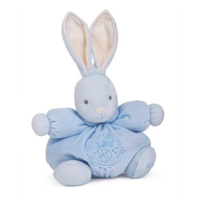 Kaloo Kaloo perle : peluche 25 cm patapouf medium lapin bleu