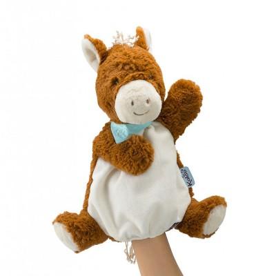Kaloo Doudou marionnette : les amis : le cheval mocha