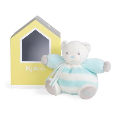 Kaloo Kaloo bébé pastel : patapouf ours aqua et crème