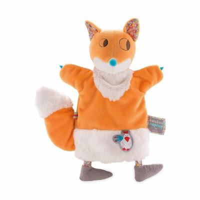 Kaloo Kaloo nopnop : doudou marionnette yummy renard