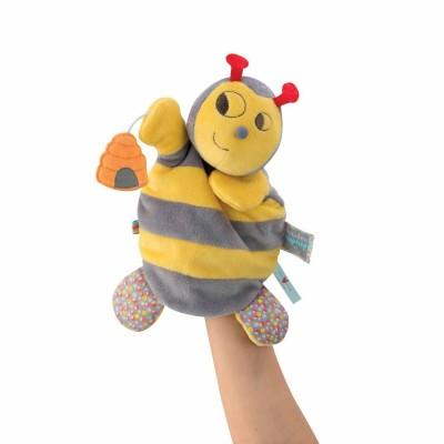 Kaloo Kaloo nopnop : doudou marionnette abeille honey