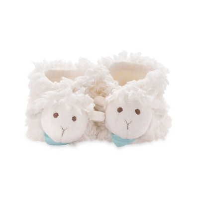 Kaloo Kaloo les amis : chaussons vanille agneau 0-3 mois