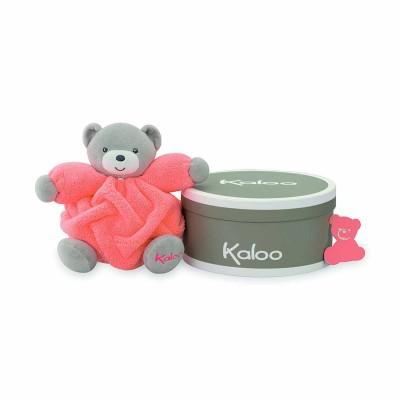 Kaloo Kaloo néon : p'tit ours orange fluo
