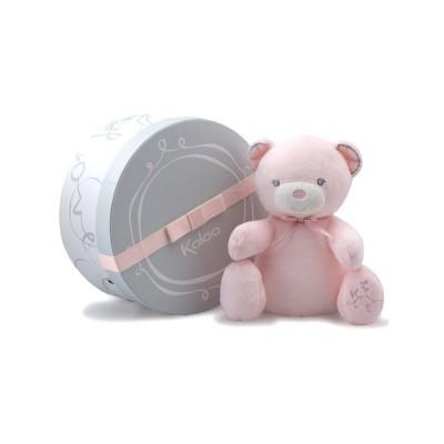 Kaloo Kaloo perle : doudou bébé musical rose