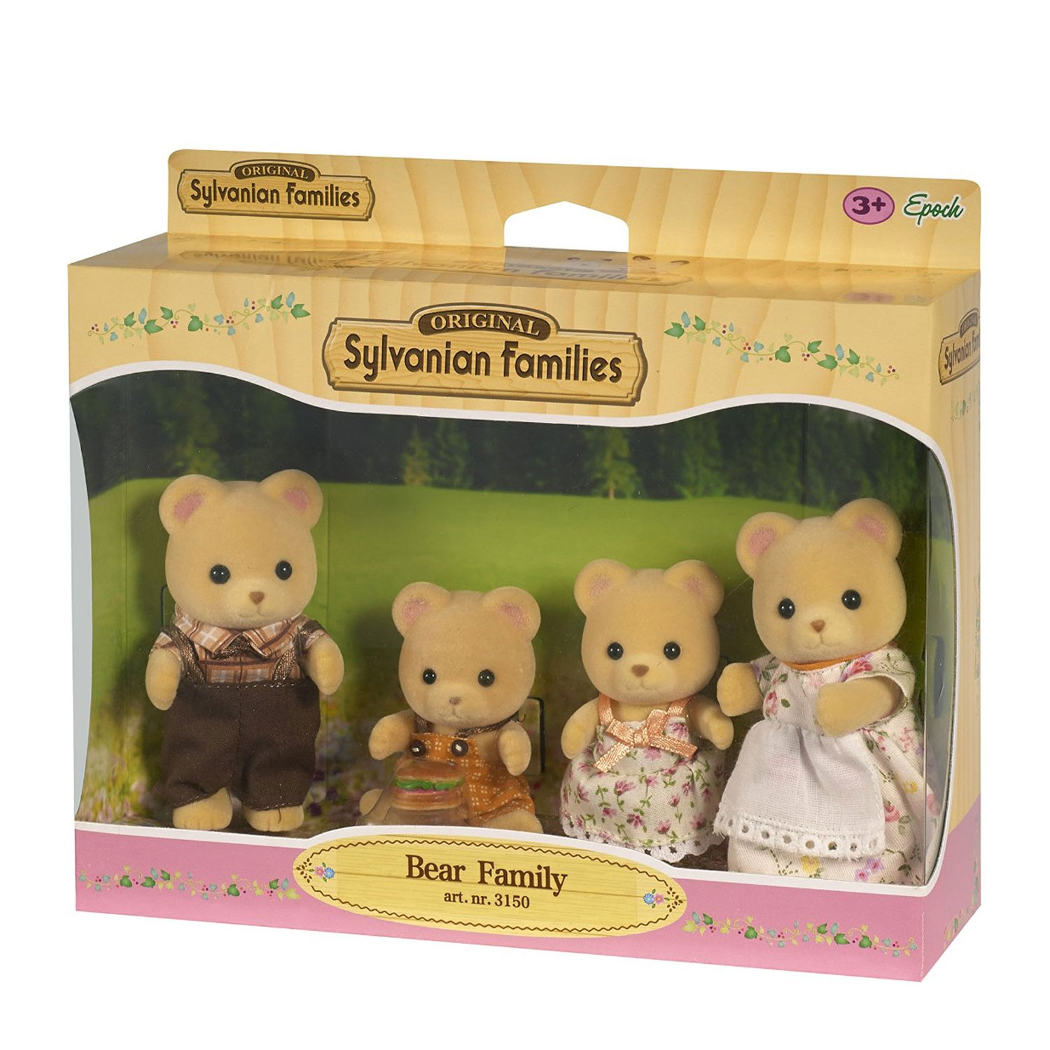Sylvanian family 3150 famille ours ebay for Sylvanian chambre parents