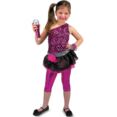 Melissa And doug déguisement enfant : rock star 3/5 ans