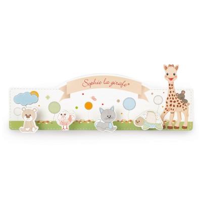 Janod Porte-Manteau en bois sophie la girafe