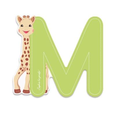 Janod Lettre décorative Sophie la Girafe : M (vert)