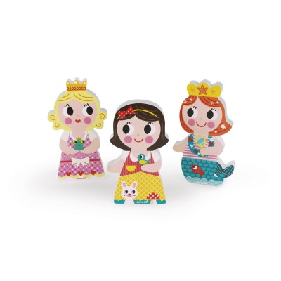 Janod Magnets Funny : Princesses