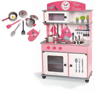 article d 39 occasion cuisini re en bois cuisine cot cuisine janod magasin de jouets pour. Black Bedroom Furniture Sets. Home Design Ideas