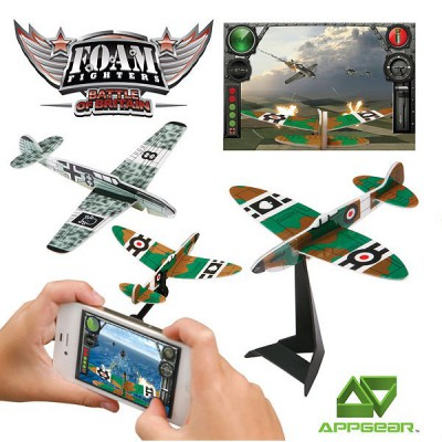 WowWee Jeu pour application mobile Appgear - FOAM Fighters : Bataille d'Angleterre